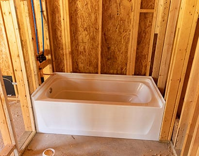 bathroom remodeling water line installation troy il